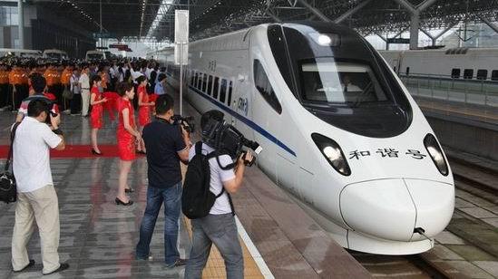 武汉站共开通20对到宜昌的动车组