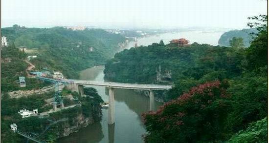 宜昌南津关峡口风景区图片
